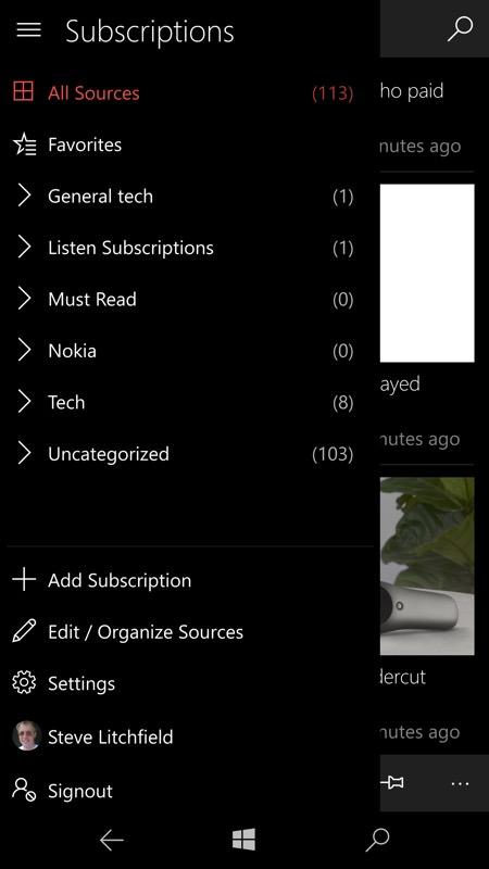 Screenshot, iNi Reader
