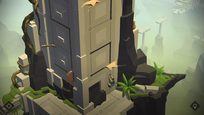Screenshot, Lara Croft GO