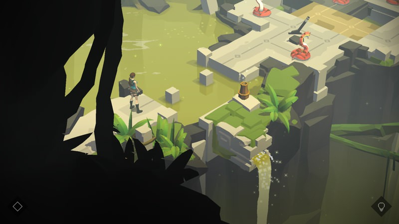 Screenshot, Lara Croft GO