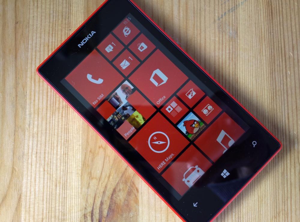 Lumia 520 photo