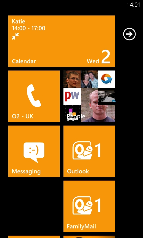 Windows Phone 7 Email
