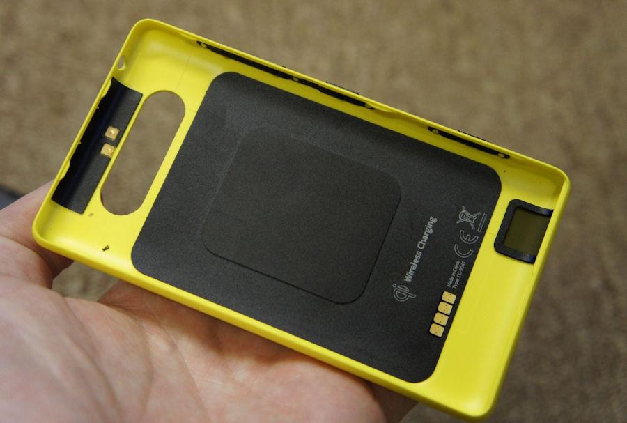 Lumia 820 shell