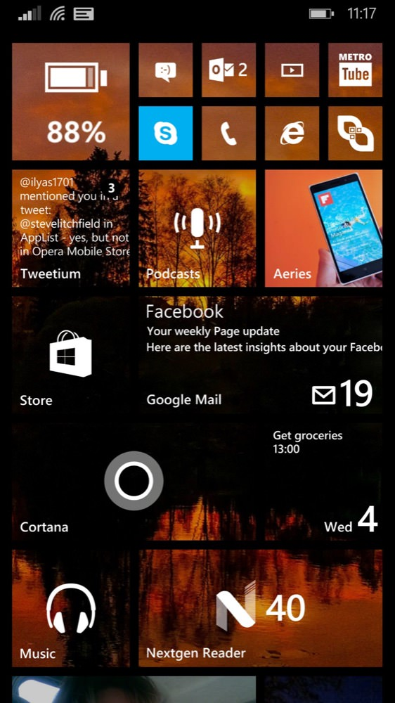 windows phone 8 1080p screenshot