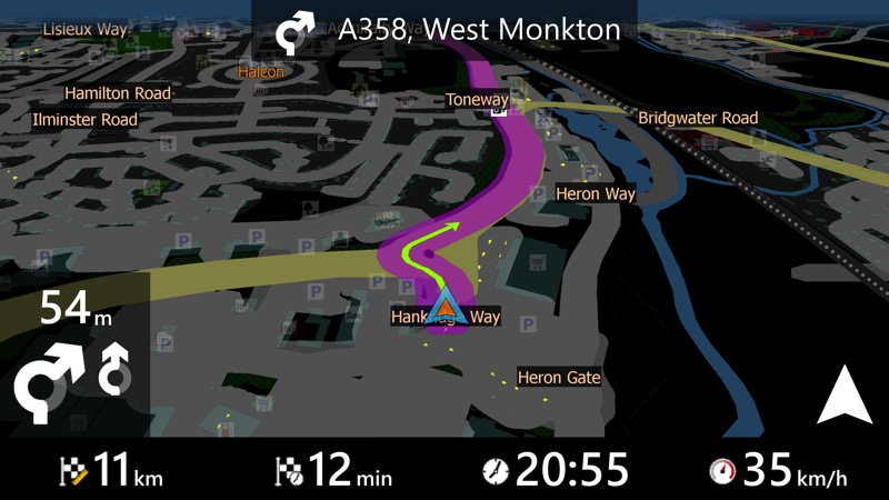 MapFactor GPS Navigator review - All About Windows Phone