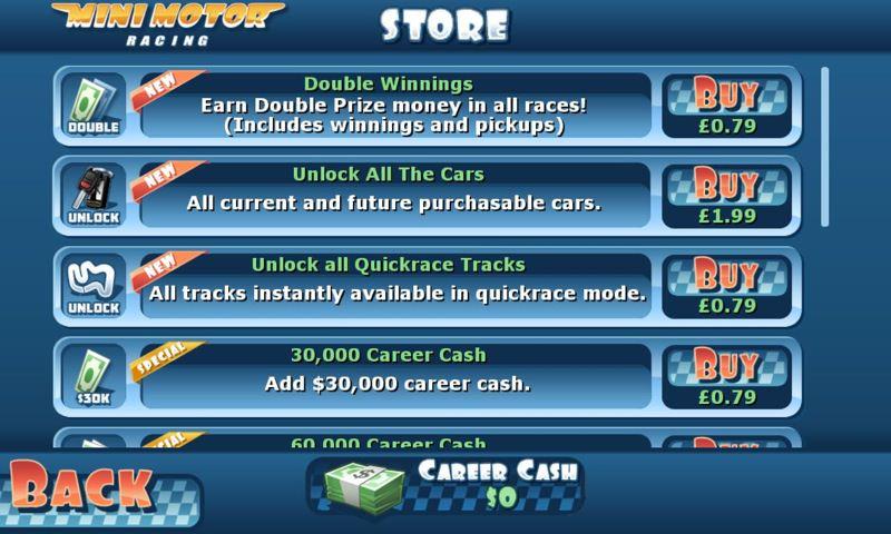 Screenshot, Mini Motor Racing