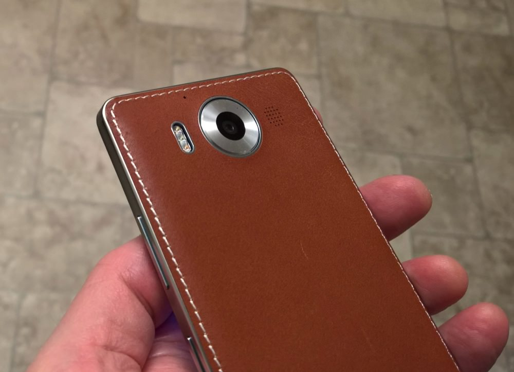Cognac back cover for Lumia 950