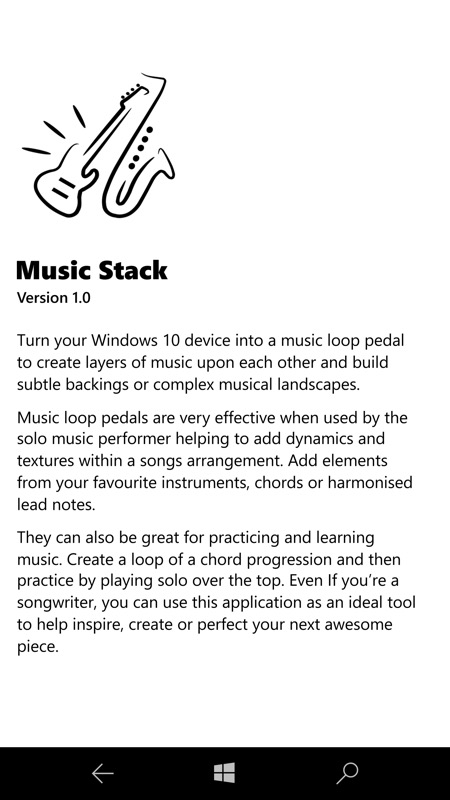 Music Stack screenshot