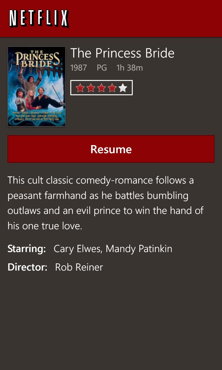 Screenshot, Netflix