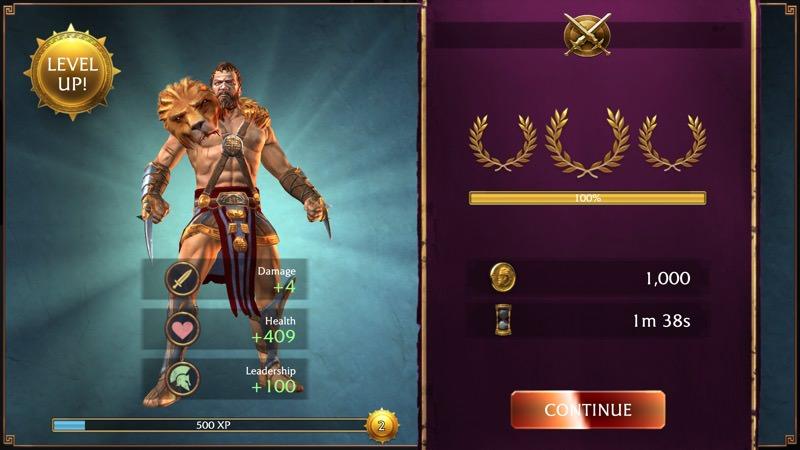 Screenshot, Olympus Rising