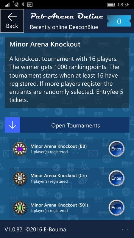 Screenshot, Pub Arena Online