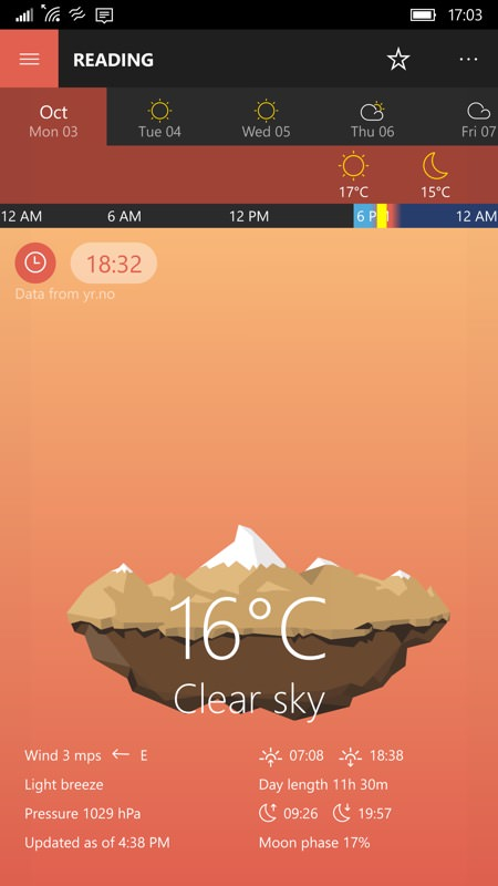 Screenshot, Perfect Weather