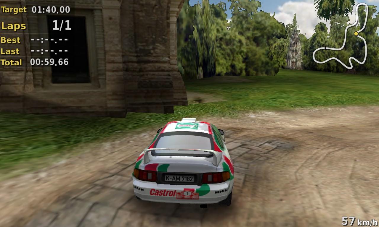 Screenshot, Pocket Rally