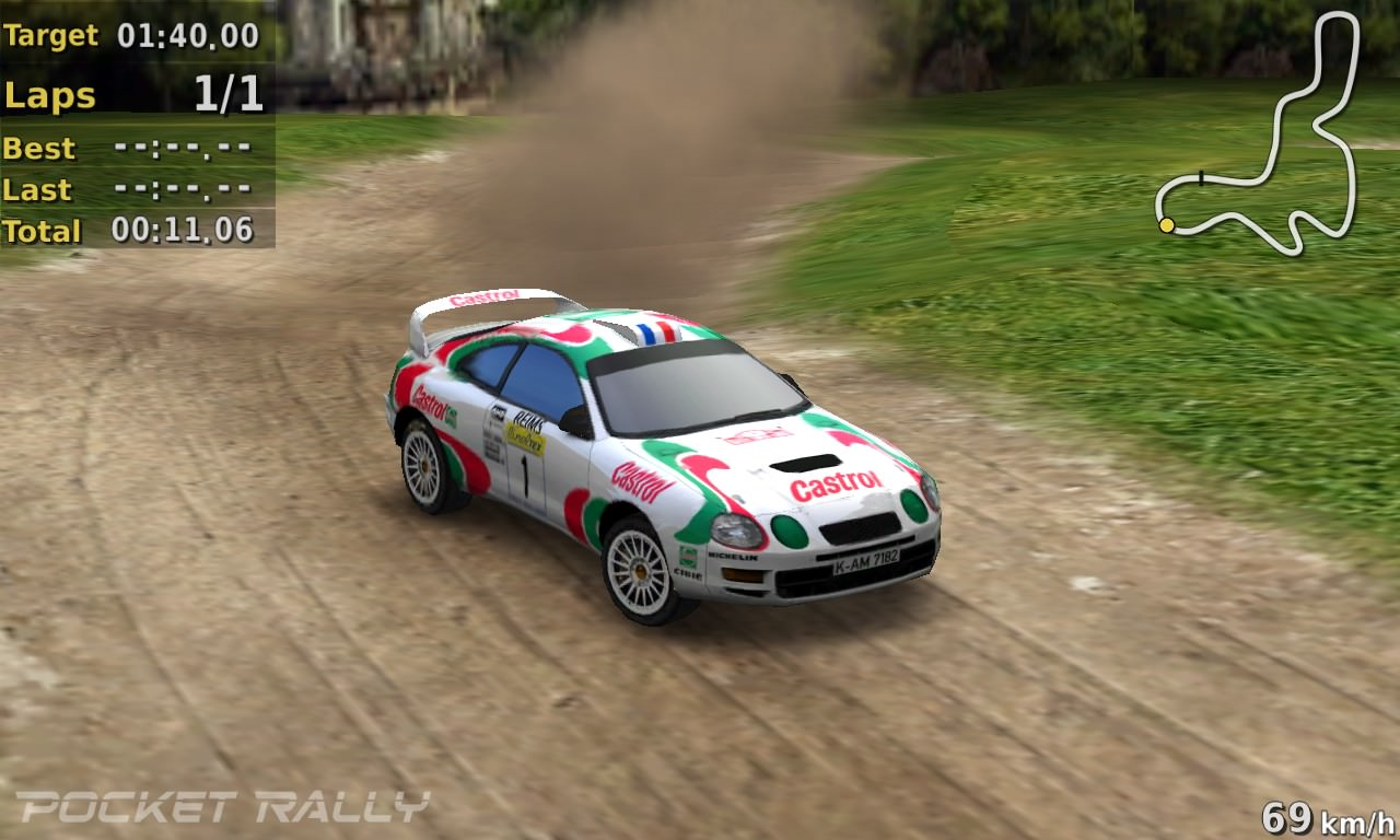 Screenshot, Pocket Rally