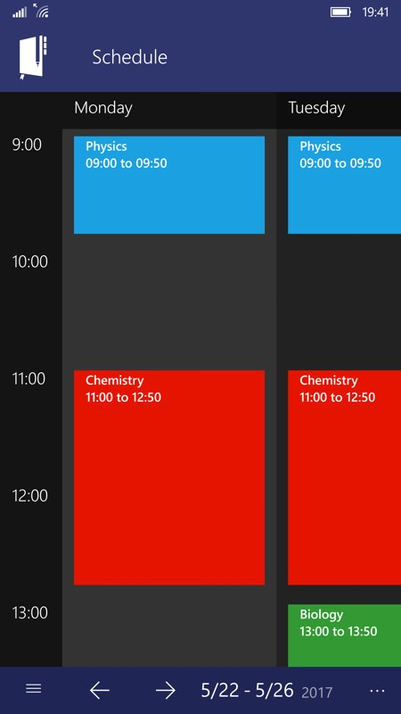 Screenshot, Power Planner UWP