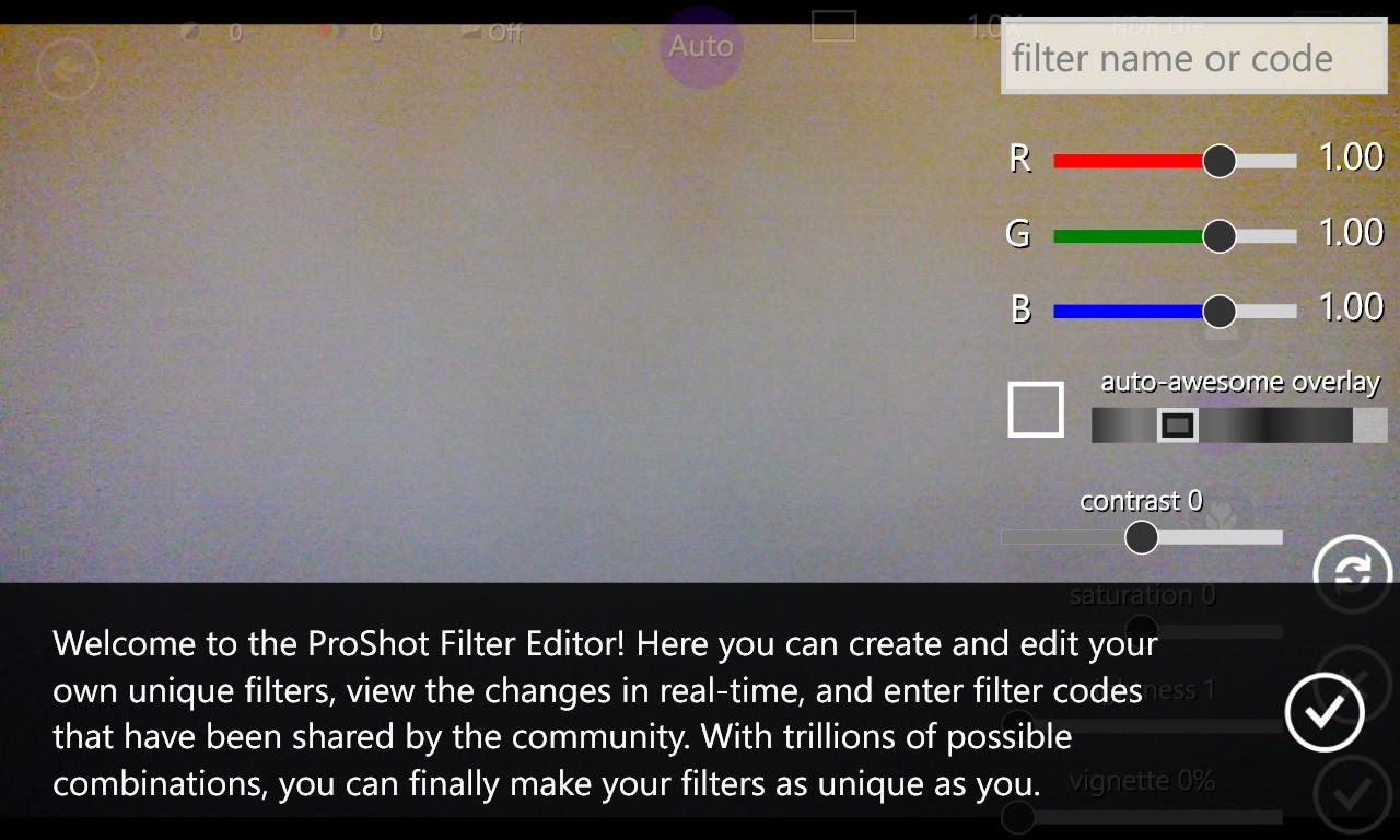 Screenshot, ProShot