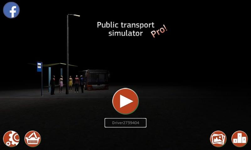 Public transport simulator screenshot