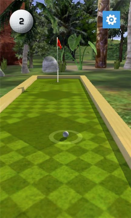 Screenshot, Putt In