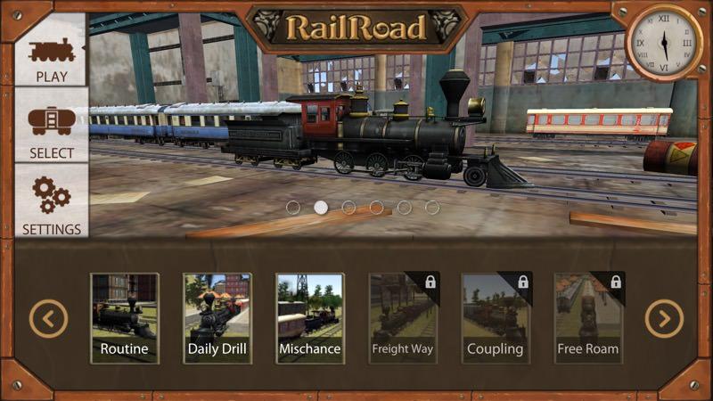 Screenshot, Railroad Train Simulator