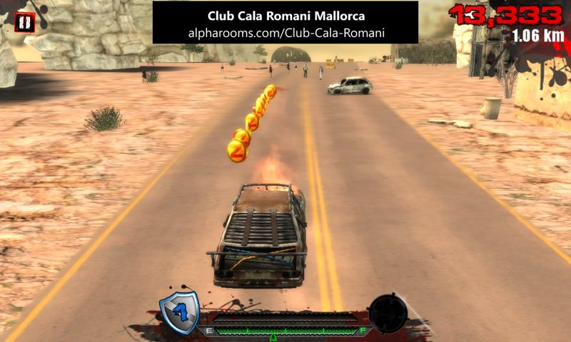 Screenshot, Route Z