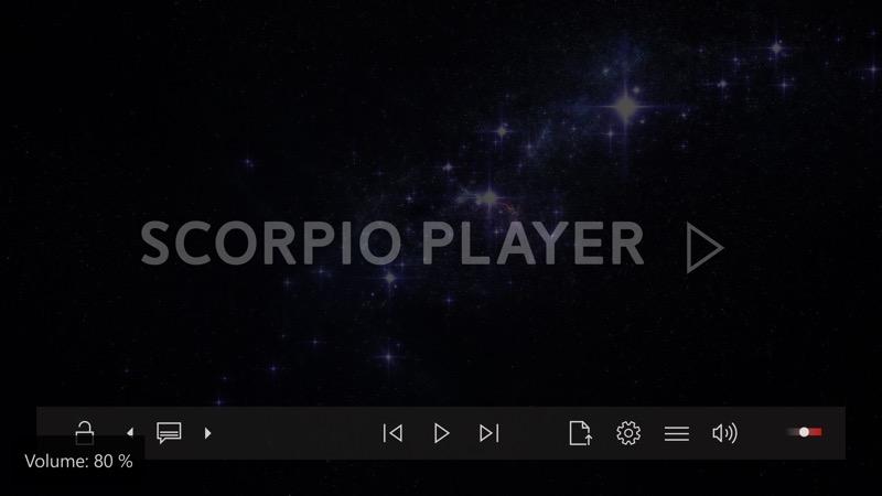 Screenshot, Scorpio Player