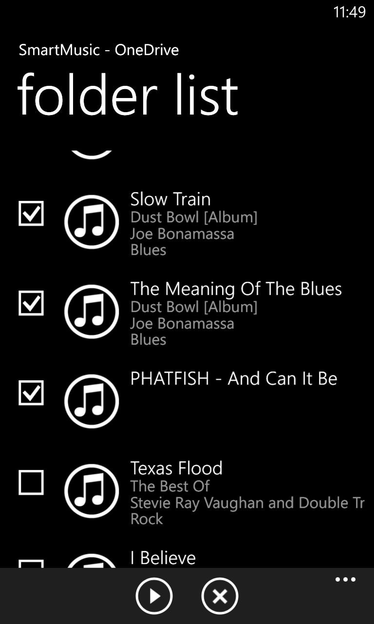 SmartMusic screenshot