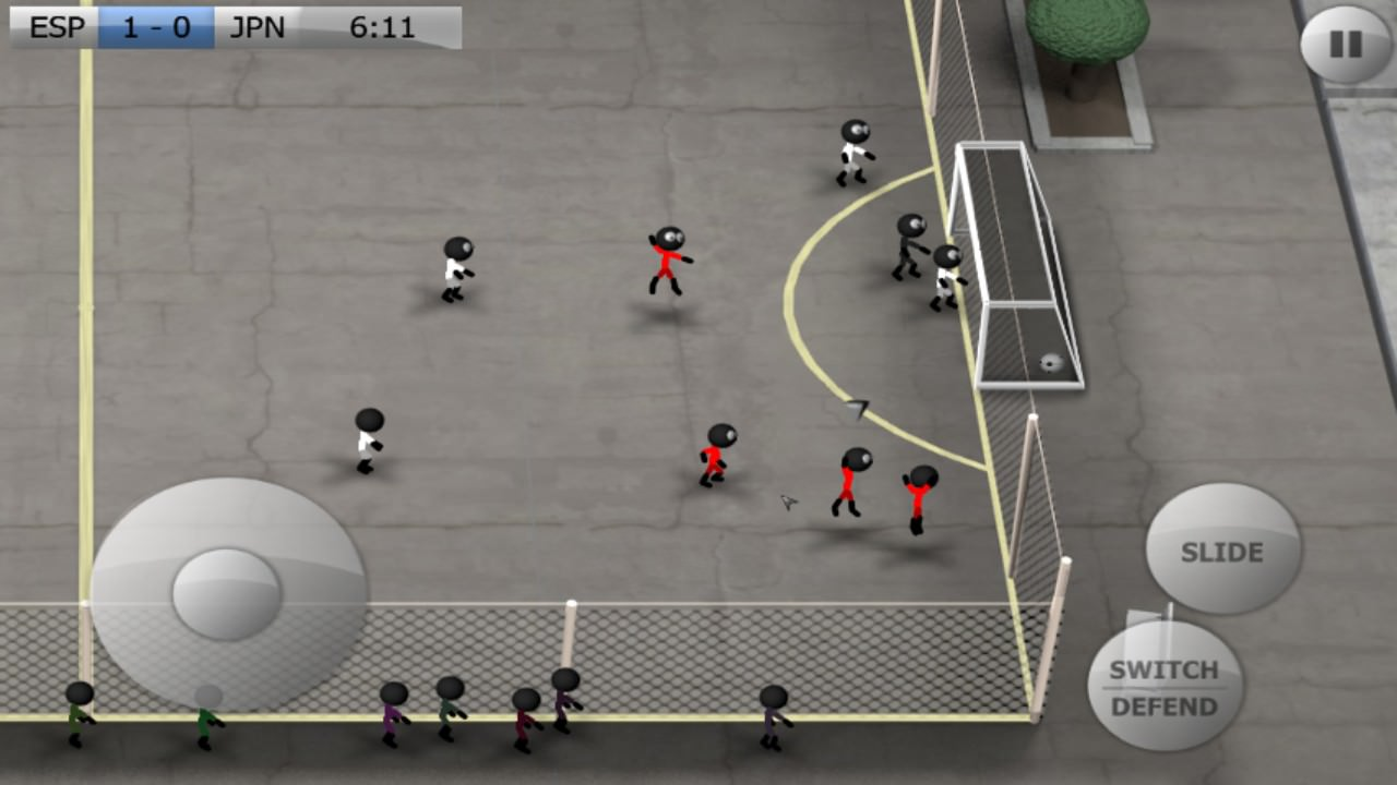 Screenshot, Stickman Soccer