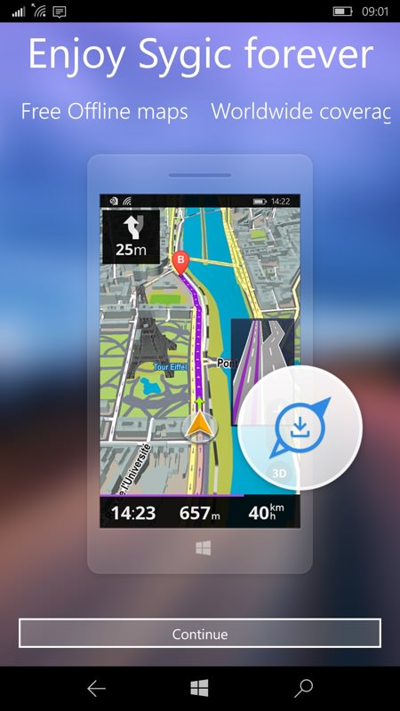 Sygic GPS Navigation UWP review - All About Windows Phone