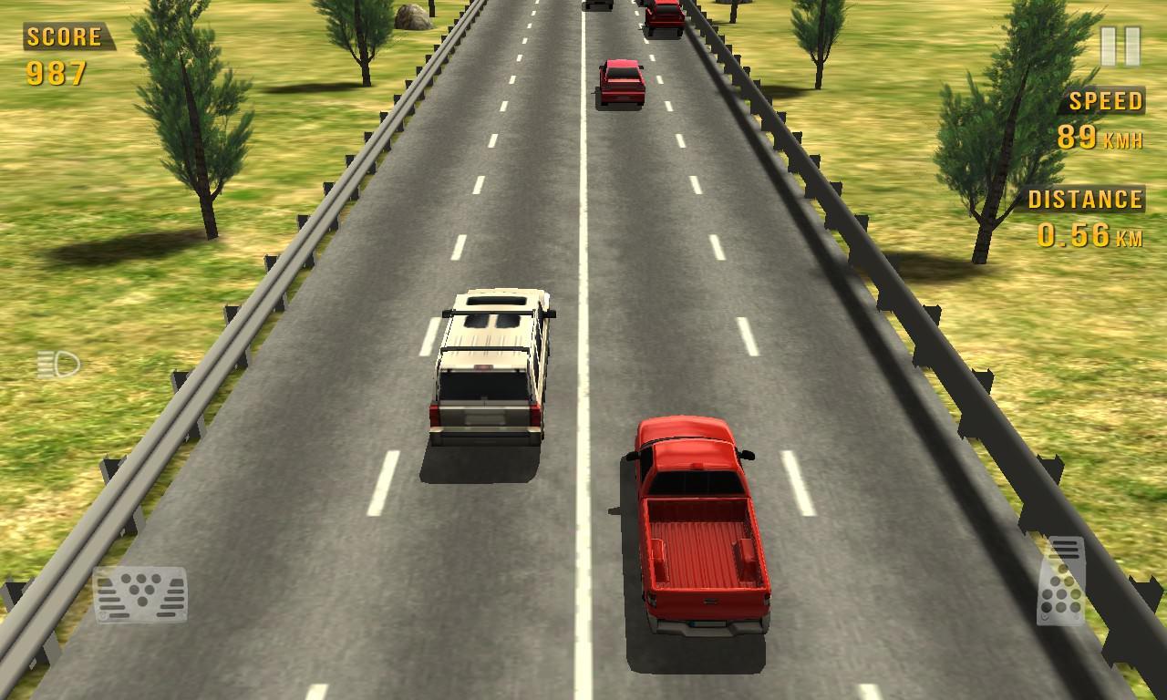 Screenshot, Traffic Racer