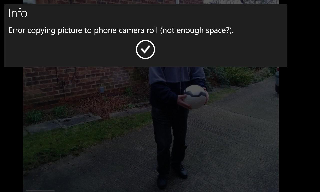 Screenshot, Turbo Camera
