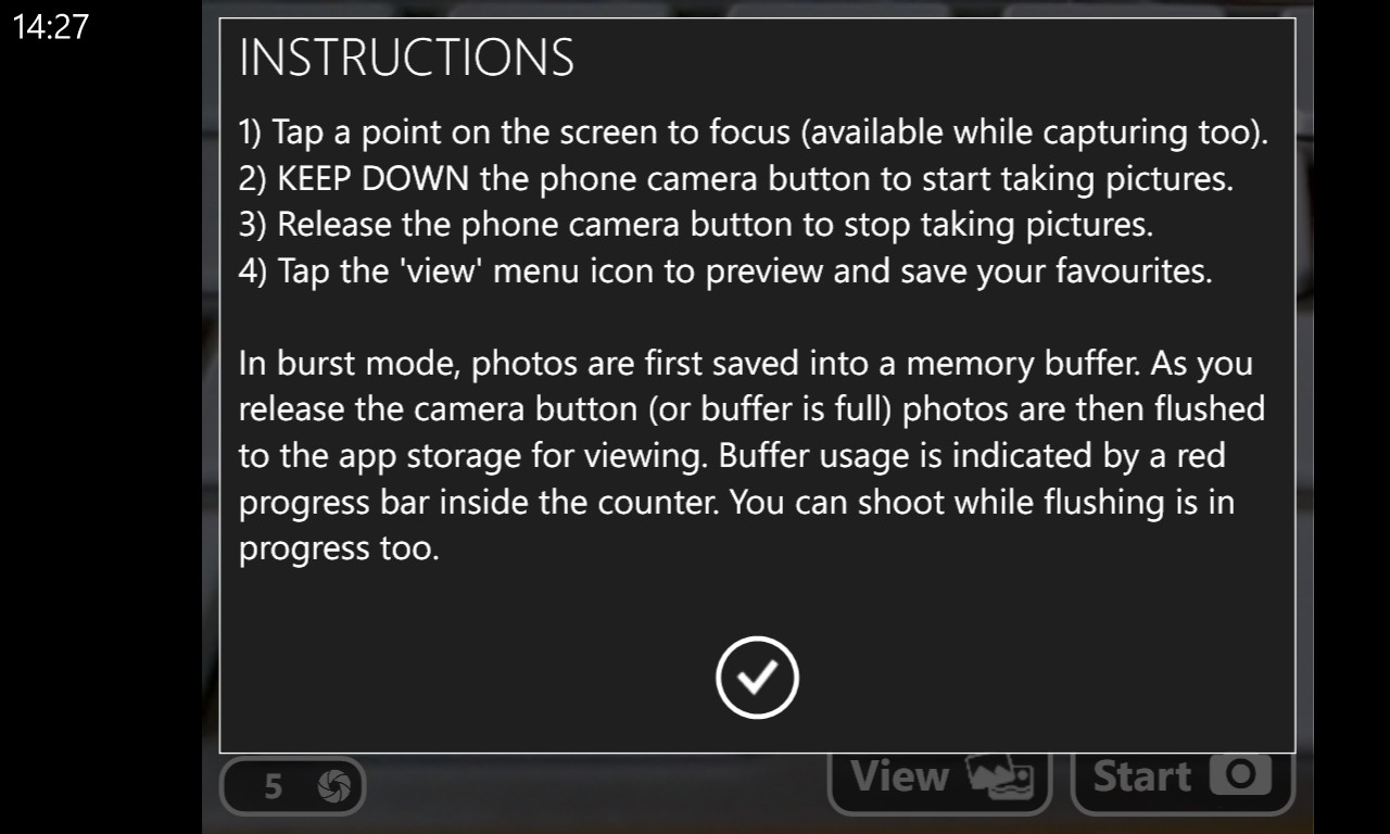 Screenshot, Turbo Camera
