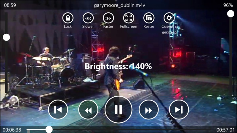 Screenshot, Video X Player Pro