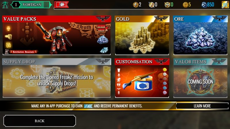 Screenshot, Warhammer 40,000