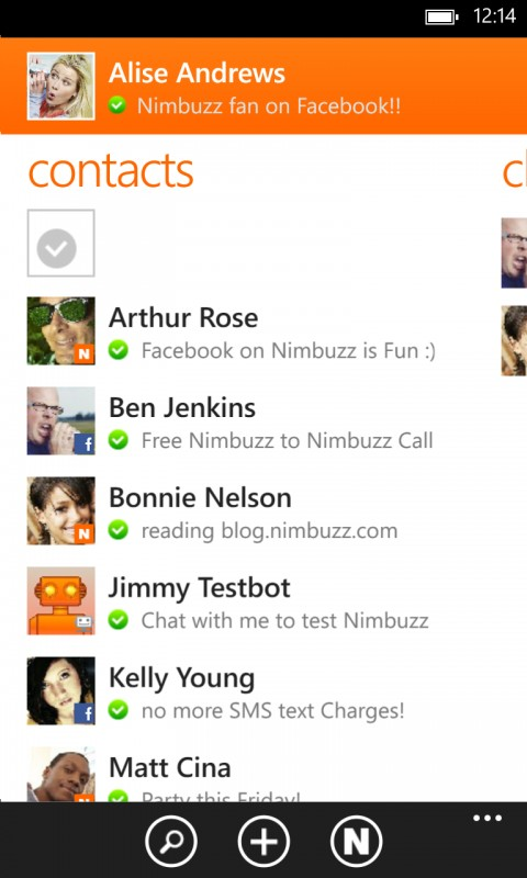 Download Nimbuzz Android With Chat Room