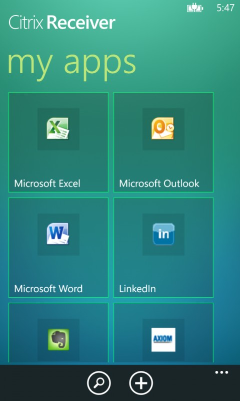 Citrix Receiver now available for Windows Phone 8