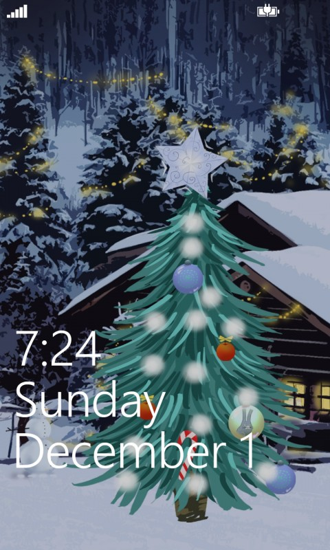 Give Your Phone A Seasonal Look With My Christmas Tree