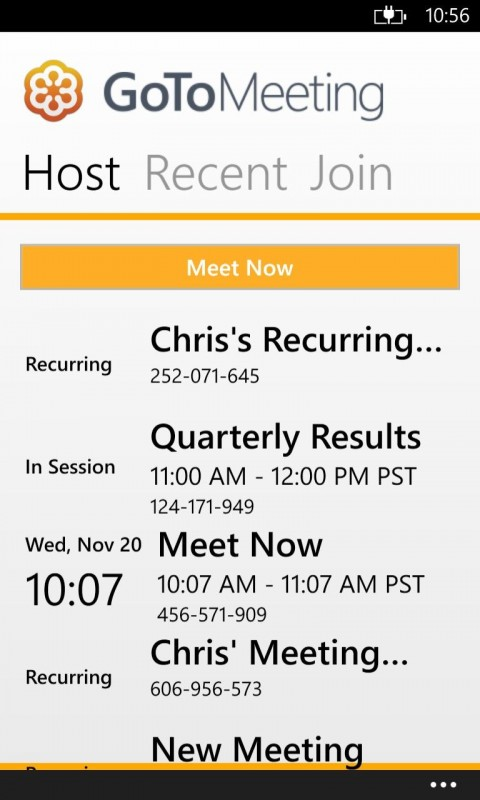 Citrix 39 s gotomeeting now available for windows phone 8 What is gotomeeting