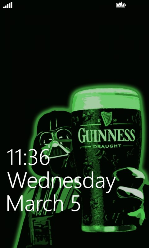 St Patricks Day Screenz