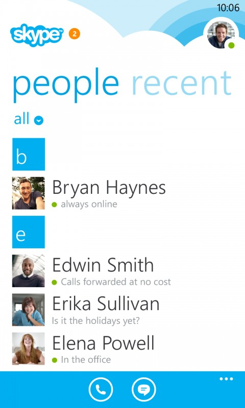 how to add people contact in skype